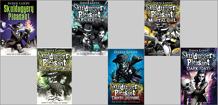 Skulduggery Pleasant by Derek Landy @TheRoyaleIndia