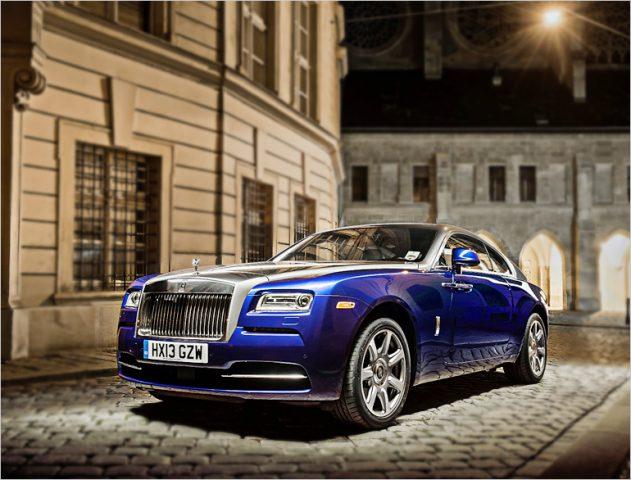 Rolls Royce Wraith @TheRoyaleIndia