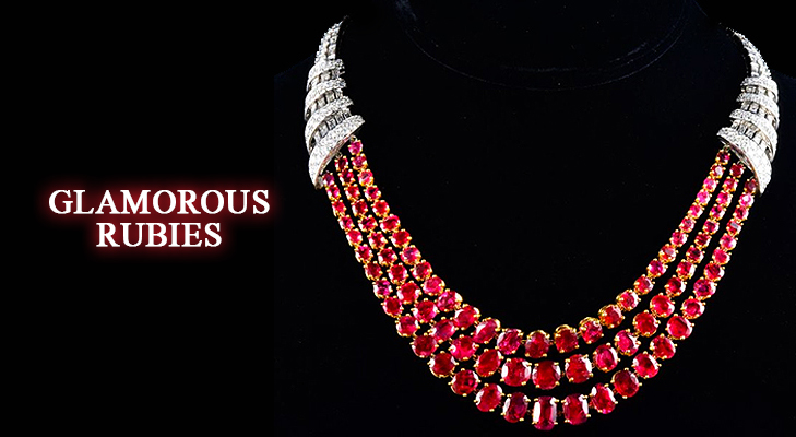 Glamorous Ruby Jewellery for all occasions @TheRoyaleIndia