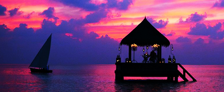 Beautiful Maldives for a romantic vacation @TheRoyaleIndia