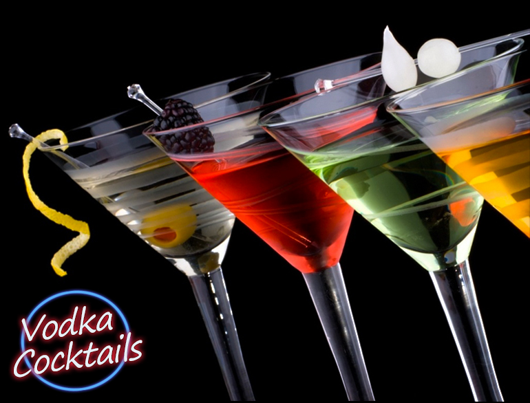 Vodka Cocktails for the weekend spirits @TheRoyaleIndia
