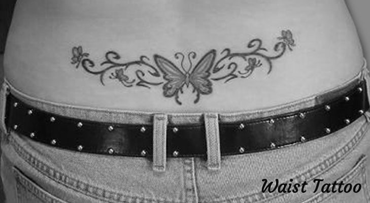 Waist Tattoo Design @TheRoyaleIndia