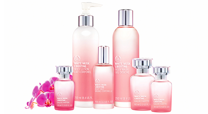 White Musk Libertine Body Mist by The Body Shop @TheRoyaleIndia