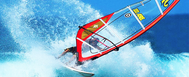 Experience windsurfing at Maldives @TheRoyaleIndia