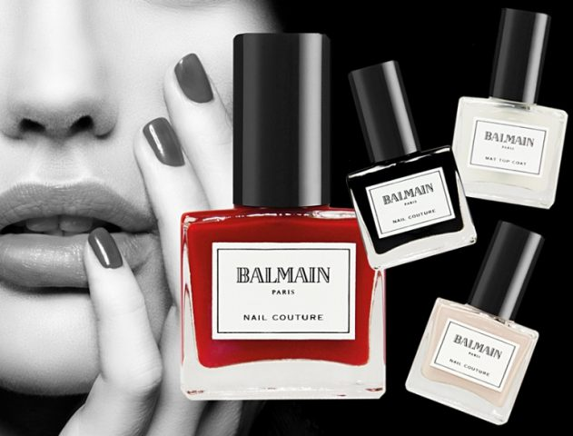 Balmain Paris launches Limited Edition Nail Couture @TheRoyaleIndia