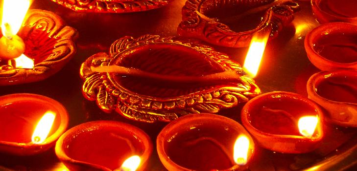 Light Diyas for Diwali @TheRoyaleIndia