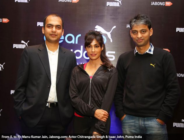 Chitrangada Singh for Puma Campaign @TheRoyaleIndia