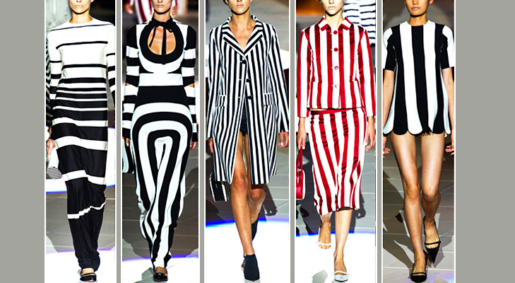 Evergreen stripes at New York Fashion @TheRoyaleIndia