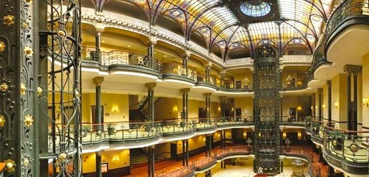 Gran Hotel Ciudad de Mexico, Mexico City where James Bond movie was shot @TheRoyaleIndia
