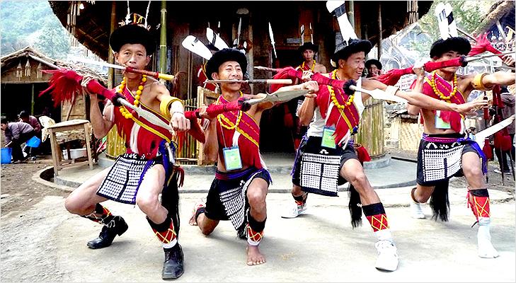 Hornbill Festival in December at Nagaland @TheRoyaleIndia