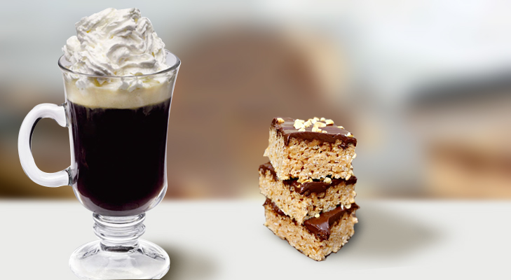 Irish Coffee and Chocolate Rice Krispies @TheRoyaleIndia