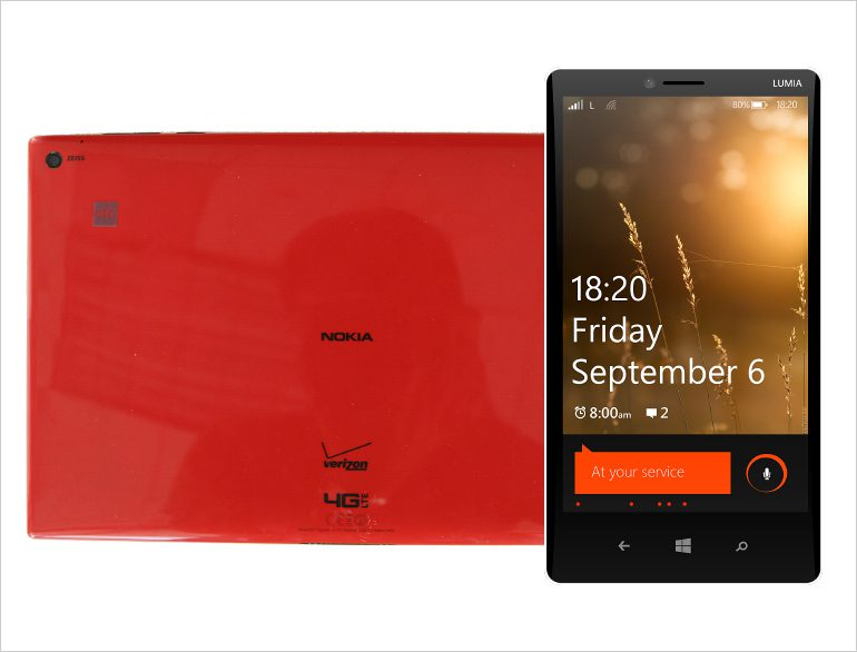 Nokia Lumia 1820 Nokia Lumia 1820 And Lumia