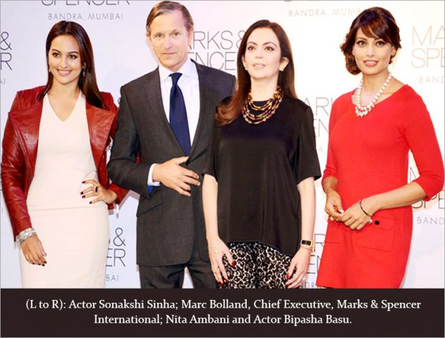 Marks & Spencer- Reliance Retail Joint Venture @TheRoyaleIndia