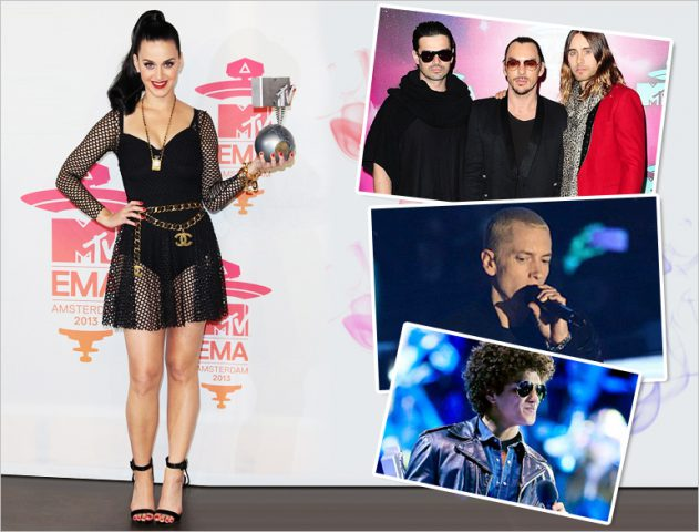 MTV EMA Award Winners 2013 @TheRoyaleIndia