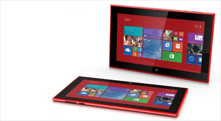 Nokia Lumia Tablet 2520 @TheRoyaleIndia