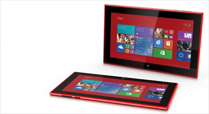 Nokia Lumia Tablet 2520 @TheRoyaleIndia