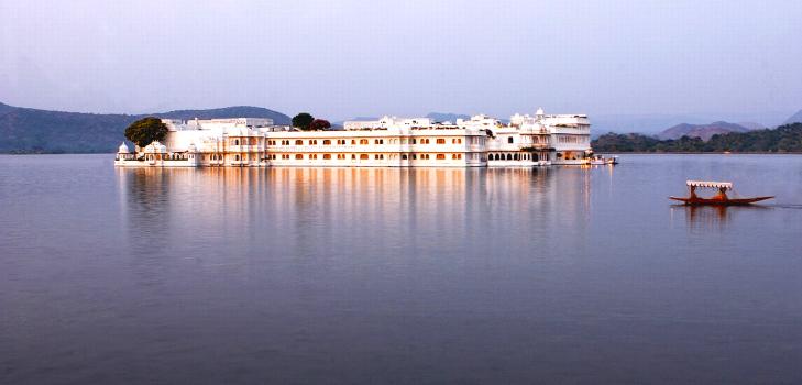 Taj Lake Palace, Udaipur where James Bond movie was shot @TheRoyaleIndia