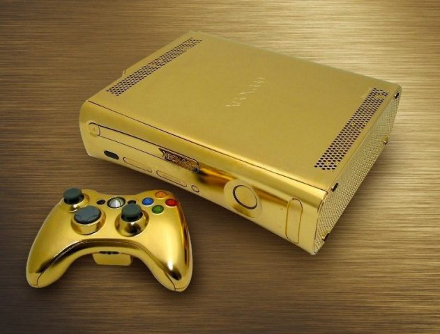 Gold plated X-Box One @TheRoyaleIndia
