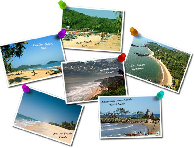 Top Six Beaches of India @theroyale