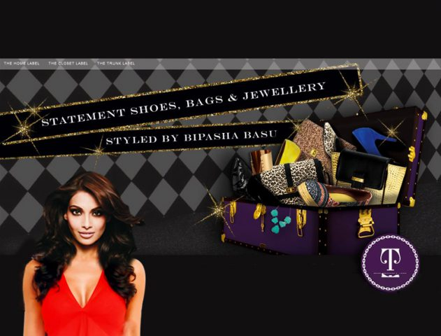 Bipasha Basu launch her accessories line @theroyale