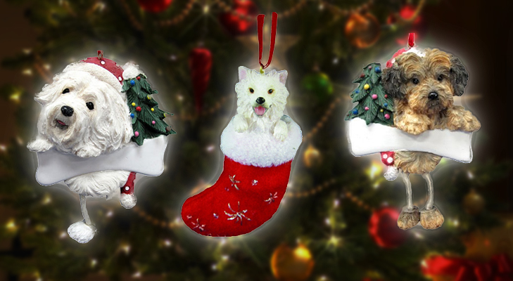 Cute Wobbly Dog for Christmas Tree Decoration @TheRoyaleIndia