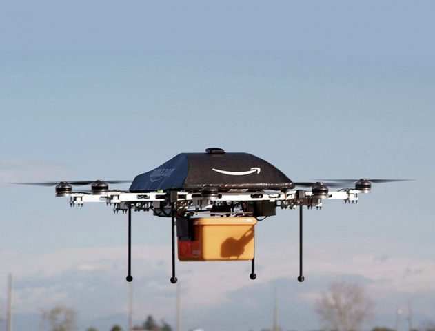 Drone deliveries for Amazon @theroyaleindia