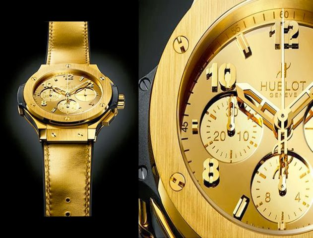 Hublot Launches Glittering Gold Watches @theroyaleindia