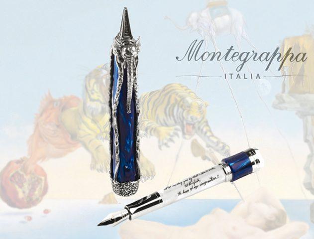 Montegrappa Salvador Dali Limited Edition Pens @theroyaleindia