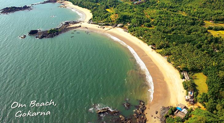 Om Beach, Gokarna, Karnataka @theroyaleindia