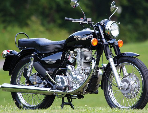 Royale Enfield Bullet @theroyaleindia