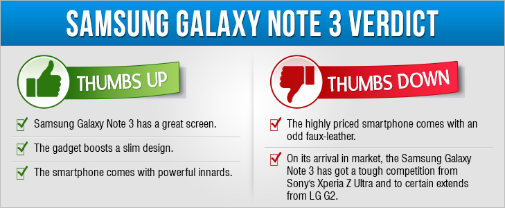 Samsung Galaxy Note 3 review @TheRoyaleIndia
