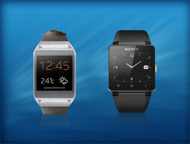 Samsung Galaxy Gear & Sony Smartwatch @theroyaleindia