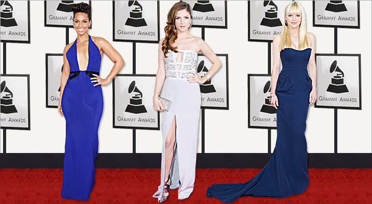 Alicia Keys, Anna Kendrick & Anna Faris at Grammy 2014 @TheRoyaleIndia
