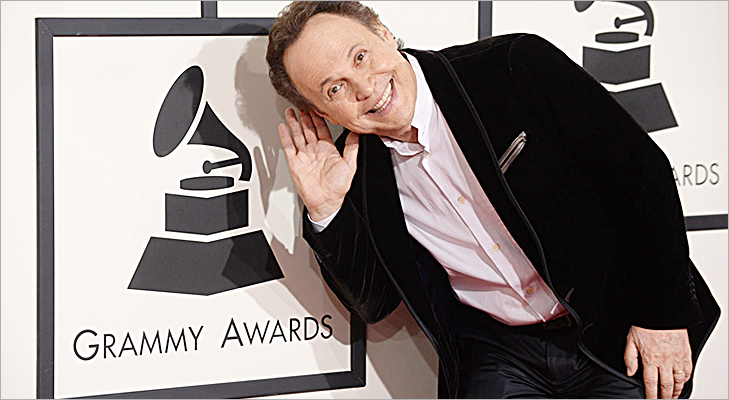 Billy Crystal at Grammy 2014 @TheRoyaleIndia