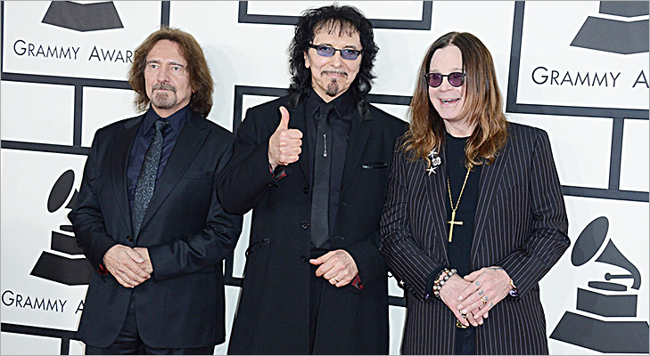 Black Sabbath at Grammy 2014 @TheRoyaleIndia