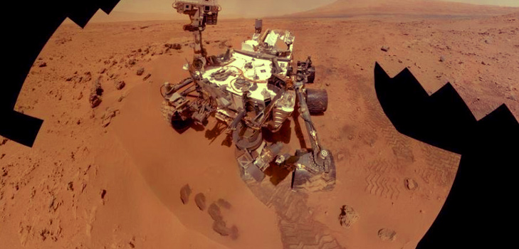Curiosity Satellite Selfie @TheRoyaleIndia