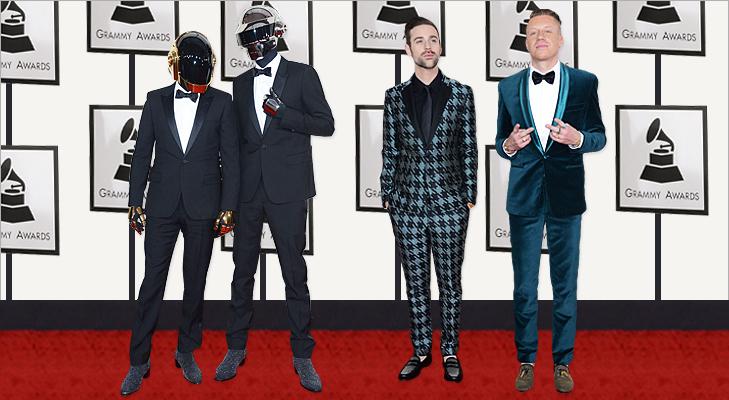 Daft Punk, Ryan Lewis & Mackelmore at Grammy 2014 @TheRoyaleIndia