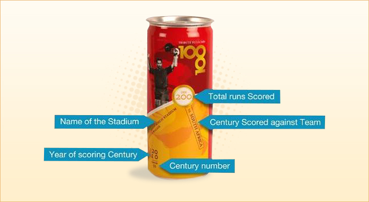 Description of limited edition coke can @theroyaleindia