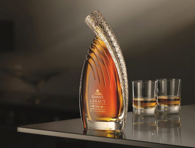 Dewar's 1893 edition legacy collection Scotch Whiskey @theroyaleindia