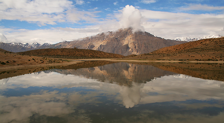 Dhankar Lake at Spiti, Himachal Pradesh - 5 Places You Should Visit in 2014 @TheRoyaleIndia