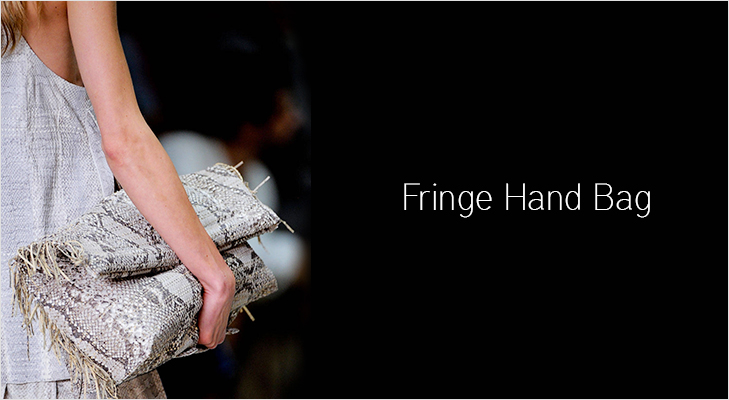Fringed Bags are set to grab eyeballs @TheRoyaleIndia