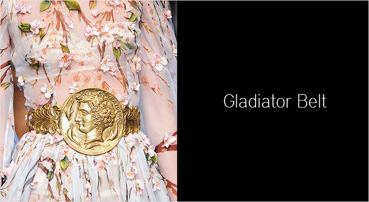 Gladiator belts are not just for men @TheRoyaleIndia