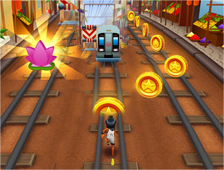 Subway Surfer In Mumbai @theroyaleindia