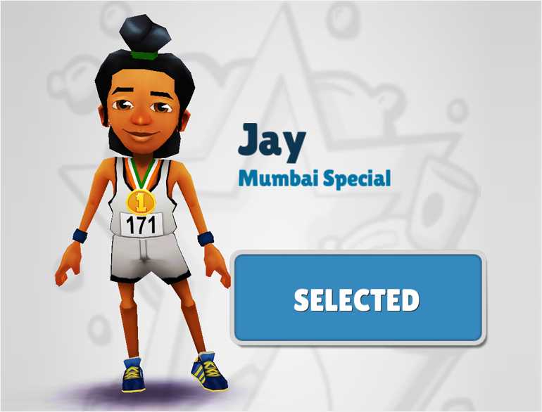 Characters in Subway Surfer @theroyaleindia