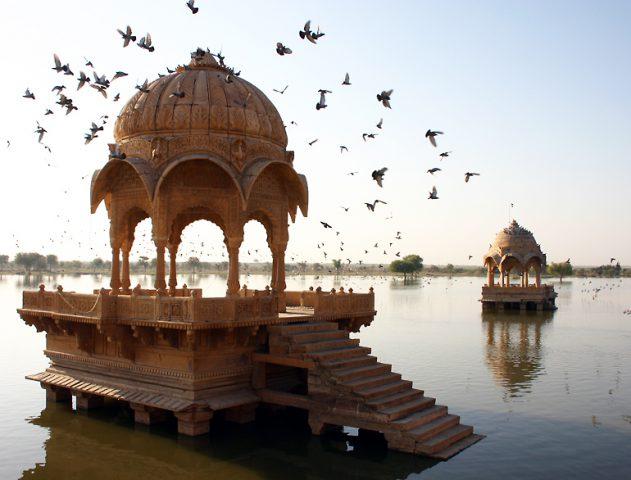 Amar Sagar at Jaisalmer - 5 Places You Should Visit in 2014 @TheRoyaleIndia
