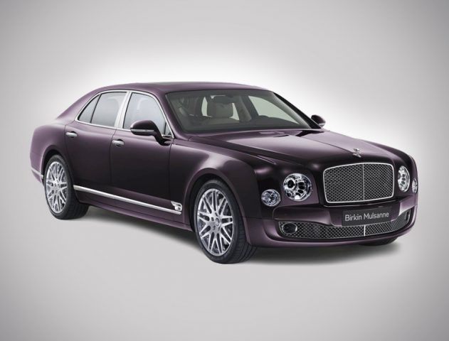 Limited Edition car by Bentley Mulsanne Birkin @TheRoyaleIndia