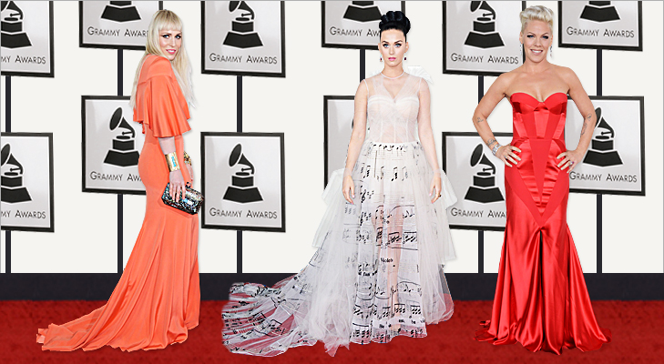 Natasha Bedingfield, Katy Perry & Pink at Grammy 2014 @TheRoyaleIndia