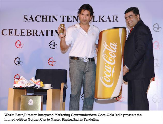 SachinTendulkar limited edition Coke cans @theroyaleindia