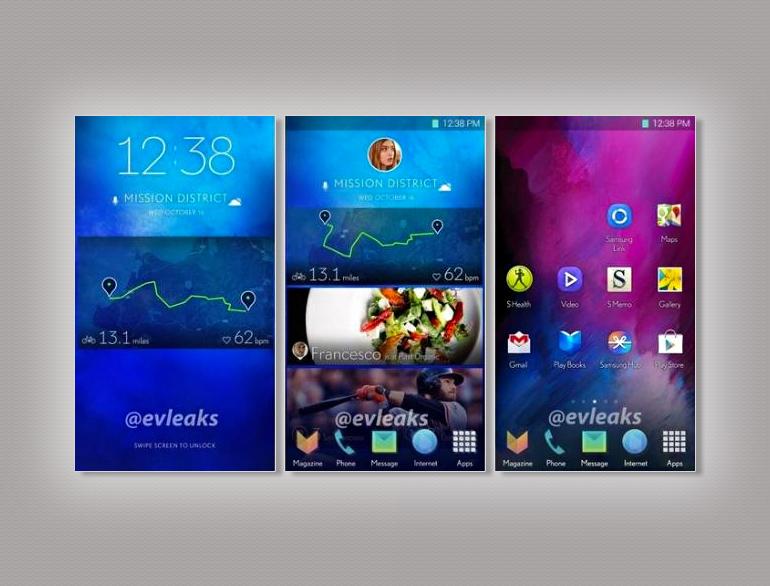 Samsung UI TouchWiz @TheRoyaleIndia