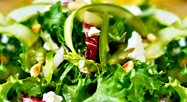 how to make a tossed green salad